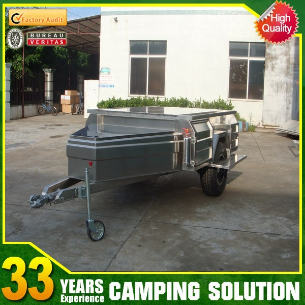 Australia Standard Mini Folding Soft Floor Trailer for Camping