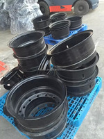 Forklift parts tire rims(HELI/HC/TOYOTA and so on)