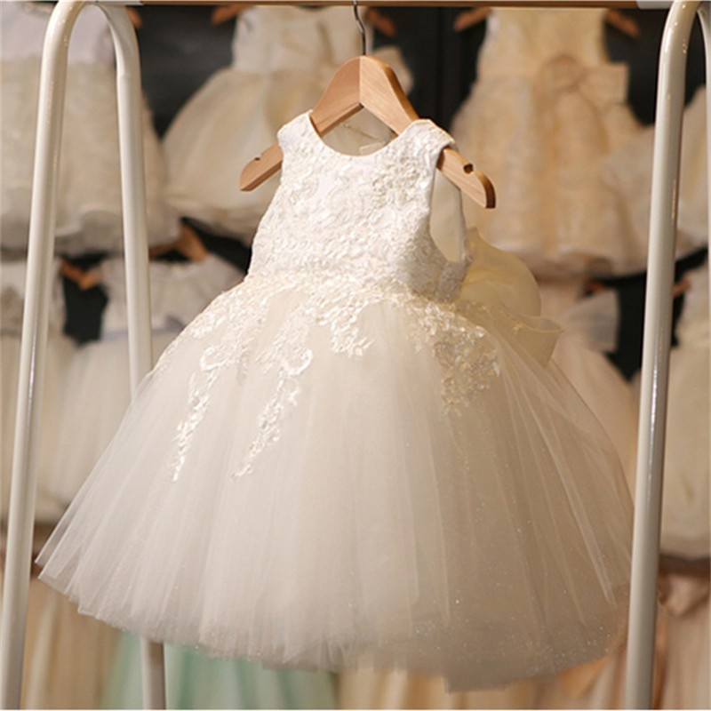 Latest design lace baby girl name images fashion clothes little bride dress 2017 baby girl party dress children frocks designs