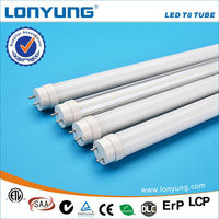 high brightness 1950lm 18W daylight color led tube t8 lamp