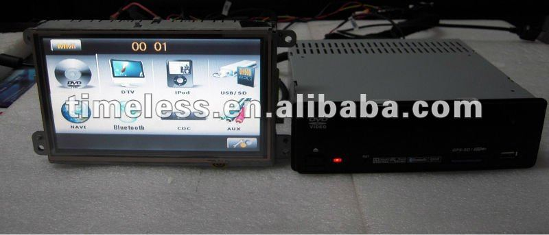 7 Inch Special Car DVD Player GPS with PIP Ipod Canbus for Audi A6 A8 Q7