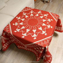 Ethnic Cloth Shop Counter Design Fabric Painting Wedding Table Cloth