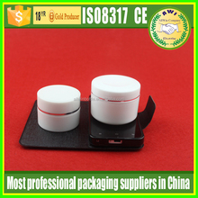 china supplier cosmetic sample wholesale small round plastic containers / acrylic cream jar