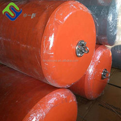 Foam Filled Marine Cylindrical Steel Mooring Buoy