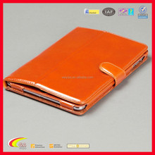 2016 New Design Luxury PU Leather Folio for Retina iPad Mini Case