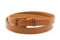 new fashion new buckle brown leather belt
