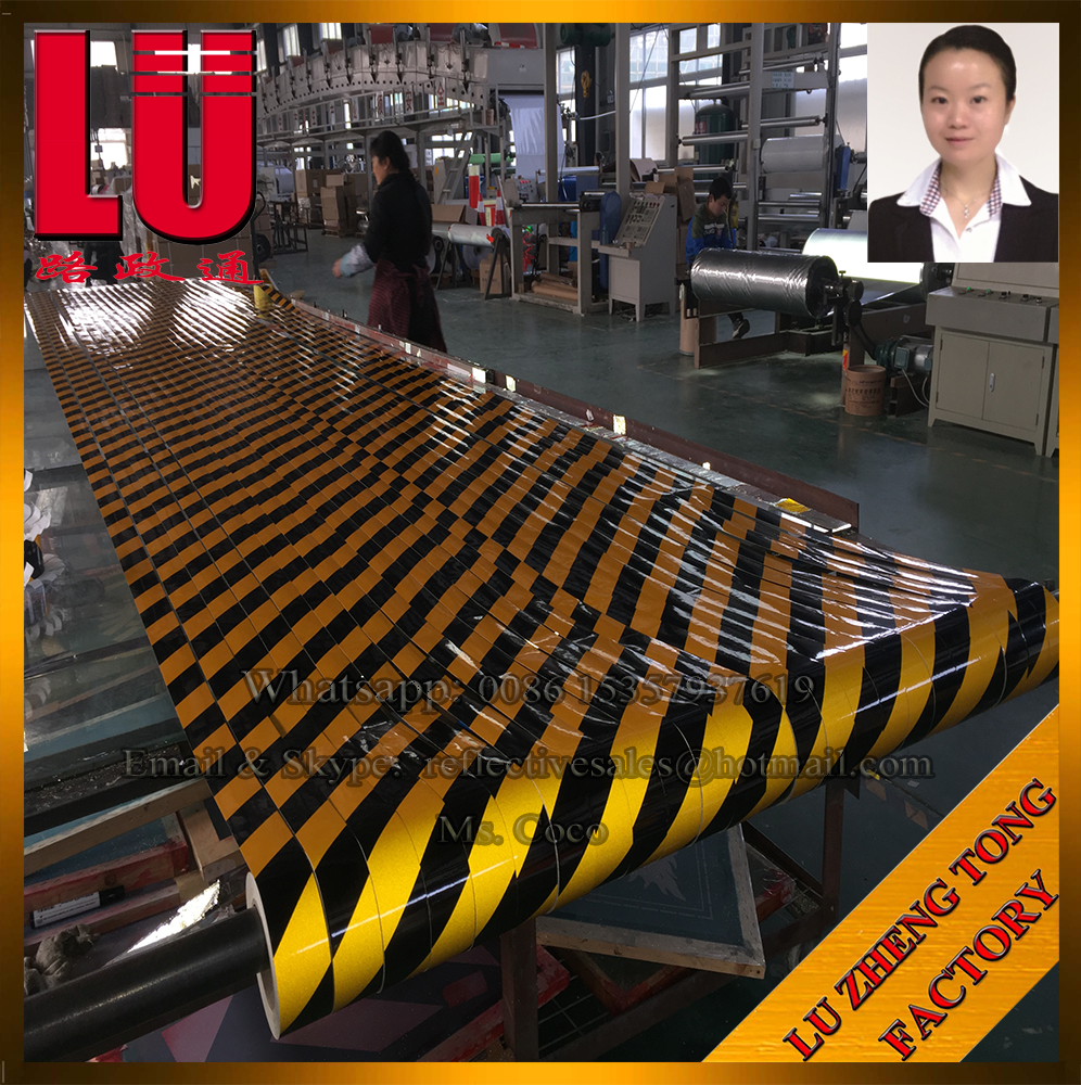 Reflective Adhesive Warning Tape Sticker