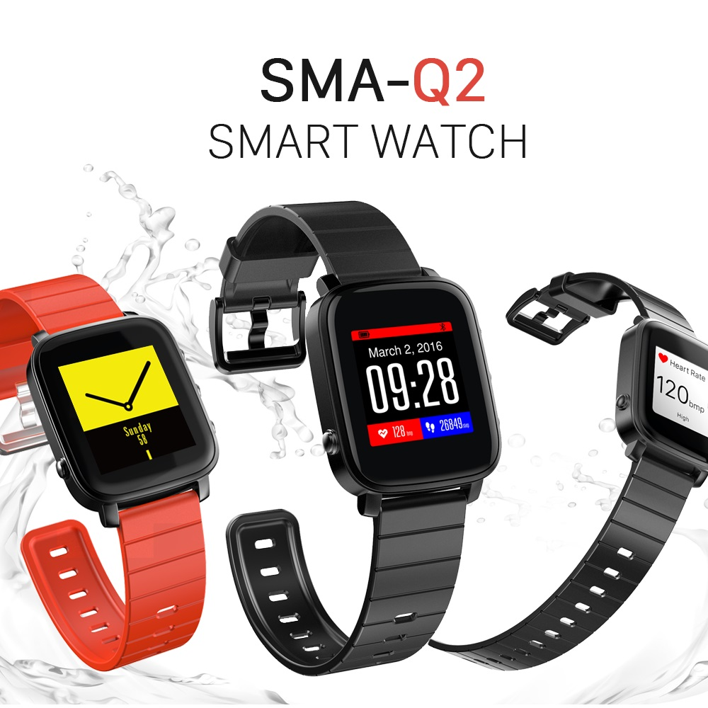 2017 Hot Selling Android Smart Watch with Heart Rate Monitor Pedometer Smart Watch ios