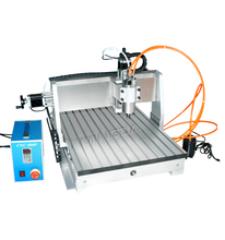 4 axis cnc router engraving machine/rotary axis/panel furtuniture cnc nesting machine