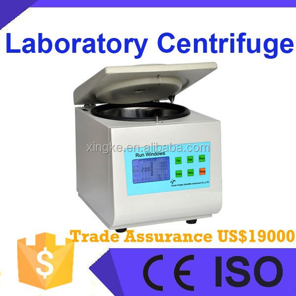 Medical testing laboratory equipment, lab centrifuge , lab centrifuge price Table Top High Speed Capillary Vessel Centrifuge
