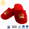 Wholesale New Design Trend Soft Women Cotton Slippers