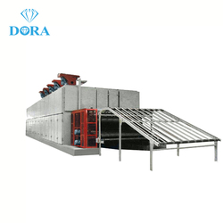Roller type veneer dryer/plywood dryer machine