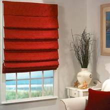 Wholesale Luxurious Folds Printed Roman Shades Supplies