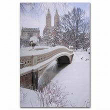 Snow scenery canvas home decoration modern art reproduction printing picture