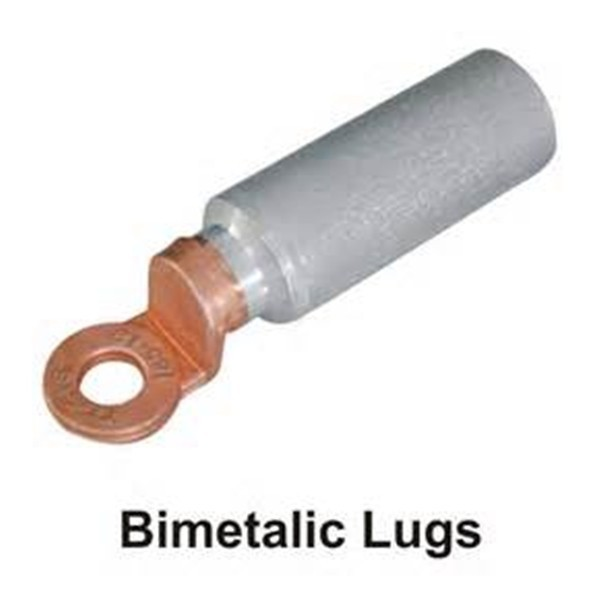 Copper aluminum bi-metallic terminal cable compression lug