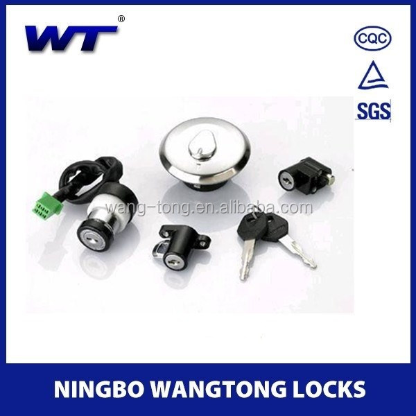 WT08-001 motorcycle fuel tank locks