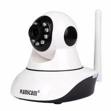 Wanscam Wireless IR Night Vision 720P IP Camera Wifi Megapixels H.264 Built-in IR-Cut home security network indoor ip camera