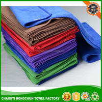 Disposable cotton moist car wash wet towels individually wrapped cleaning wet towel
