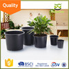 china supplier cheapest 1 2 3 5 7 10 15 gallon plastic flower pots,black nursery pot