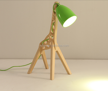 bedside wholesale lamp bases wooden lamp table kids