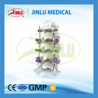 Fully stocked Spine titanium orthopedic implants internal fixation medical device