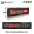 P7.62-7x48 RG double color programmable single line LED sign/display with PC USB/RS232/TCP-IP/WIFI and remote communication