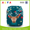 Alvababy Reindeer Design Digital Position Baby Diapers Baby Modern Cloth Nappies