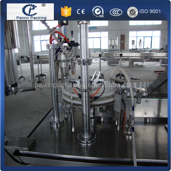 Automatic grade Packing agent filling sealing machine ,bottle machine from china