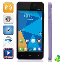 2000mAh Battery DOOGEE DG800 1GB RAM 8GB ROM 4.5inch QHD Screen 8MP+13MP Camera Mobile Phone with MTK6582