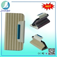 Genuine wholesale smart wallet cover leather flip case for lenovo a390
