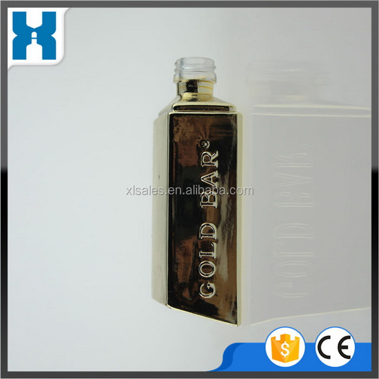 PROFESSIONAL MANUFACTURER ENVIRONMENTAL SQUARE GLASS BOTTLE FOR LIQUOR SALE