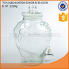 Big volume 10L clear drink dispensers water dispenser juice dispenser with tap.