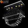 Industry metal pendant lamp,crystal lamp parts OM88452-L750