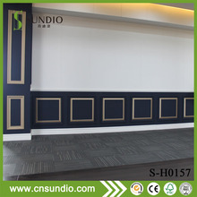 Easy install interior eco click wall clapboard laminated pvc wall cladding/siding/wpc board/panel