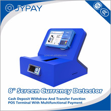 Hot money/bill counter counting machine with Pos Terminal