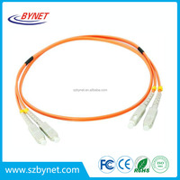 Sc-sc Duplex Fiber Optic Patch Cord / Jumper