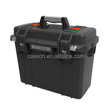 DRX special design modified pp carrying plastic hard tool box case with rubber handle
