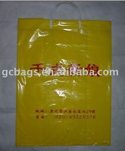 flat bottom clear plastic promotional bag