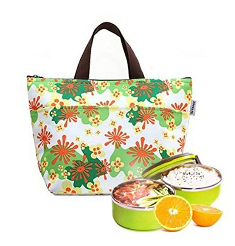 Insulated Lunch Portable Carry Pack Picnic Storage Bag Cooler Bag