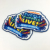 Custom Full Color Picture Dye Sublimation Printing badges Sublimation Printing patches