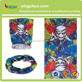 2017 Skull Multifunctional Headwear Bandana