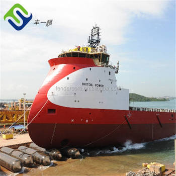 marine use pneumatic ship rubber airbag with BV certificate
