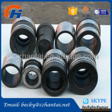 steel mould telescopic pipe fittings internal thread tube cnc spare parts