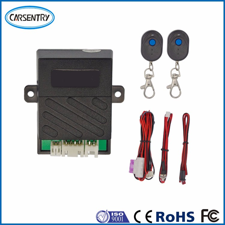 Anti-theft security system remote control immobilizer system