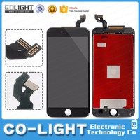 High quality original black touch screen for iphone 6s plus accept Paypal