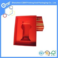 C&W Unique Design Luxury Paper Packaging Box for flower vase or glass cup