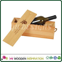 Wine carrier Wooden Box for Decoration