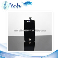 100% Original New LCD Touch Screen Display Digitizer Assembly White / Black Color For Apple iphone 4g 4s