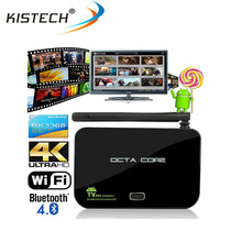 Hot sell RK3368 Octa core RAM 2GB ROM 16GB bluetooth android 5.1 Z4 android tv box