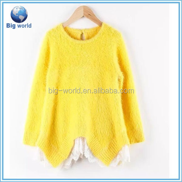 2015 Pop Knitted Pullover Sweater Korean Style,Sweet & Lovely Long Sweater For Girls